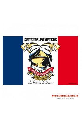 Drapeau Sapeurs Pompiers.