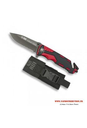 Couteau RUI rouge et noir